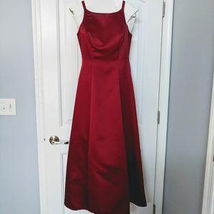 Red Formal Wedding Dress 2